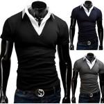 Merish Herrenhemd mit V-Neck Ausschnitt für 21,90€ inkl. Versand