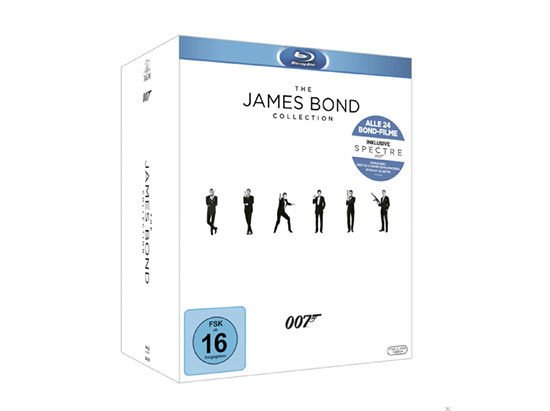 James bond Collection Bluray deal angebot