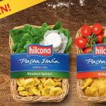 Hilcona Pasta Italia kostenlos probieren dank 100% Cashback-Aktion