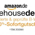 10% Sofortgutschein auf die Amazon Warehousedeals