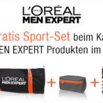 Gratis Sport-Set beim Kauf von L´Oréal Paris Men Expert Produkten im Wert von mind. 10€
