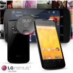 Google/LG Nexus 4 Smartphone 16GB mit Android 4.2 für 205,90€ inkl. Versand
