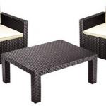 Garten Lounge Set – 2 Stühle und 1 Tisch für 99,95€ inkl. Versand