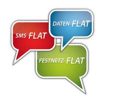 Tarif Flatrates im Logo