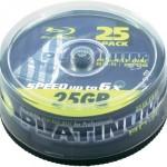50 Platinum Blu-Ray Rohlinge 25GB (Speed 6x) für 25,90€ inkl. Versand
