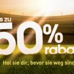 Bis zu 50% Rabatt im Sale von Adidas