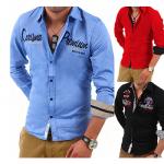 Verschiedene SlimFit Freizeithemden für Herren für je 19,95€ inkl. Versand