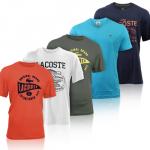 Verschiedene Unisex Lacoste T-Shirts für je 29,99€ inkl. Versand