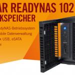 Netgear ReadyNAS 102 NAS System (2xSATA, 2xUSB3.0, 1xUSB2.0) für 129,90€ inkl. Versand
