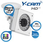 Y-Cam Cube HD720 – WiFi-N-Kamera mit leistungsstarker Nachtsicht-Funktion für 155,90€ inkl. Versand