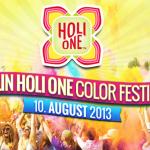 "Kostenlos zum ""Holi One Color Festival"" am 10. August in Berlin"