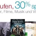 3 kaufen, 30% sparen: Filme, Musik, Hörbücher und Videospiele