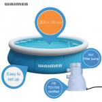 Waimea Quick Up Badepool (1.100 Liter) mit Filterpumpe für 43,90€ inkl. Versand