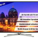 Samsung UE55F6470 – 55″ großer 3D Full-HD LED Fernseher für 809€ inkl. Versand