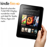 Kindle Fire HD-Tablet ab 199€ + 50€ Gutschein für App-Store bei Amazon