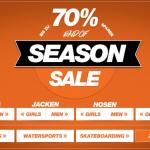 """""""End of Season Sale"""" bei Planet-Sports mit bis zu 70% Rabatt und einem 10€ Gutschein"""