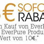 EverRich oder EverPure Produkte im Wert von mind. 10€ kaufen und 3€ Sofort-Rabatt erhalten