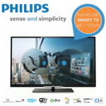 Philips 42PFL4208H – 42″ Ultra Slim Smart LED-TV für 478,90€ inkl. Versand