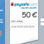 50€ Amazon Gutschein über Paysafecard kaufen und 10€ Gutschein geschenkt bekommen
