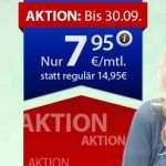 7,95€ o2 Tarif ohne Vertragslaufzeit bei winSIM – 250 Minuten/SMS in alle Netze + 500MB Datenflat