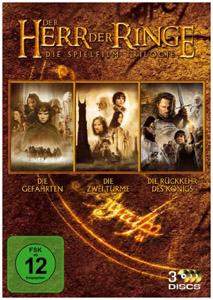 Der Herr der Ringe - Die Spielfilm Trilogie auf DVD