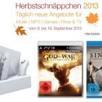 God of War (PS3), Sinister, Wii Ladestation und mehr bei den Amazon Herbstschnäppchen