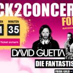 Gratis Eintrittskarte für David Guetta und Die Fantastischen Vier in Berlin