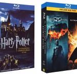 Harry Potter Blu-ray Komplettbox + The Dark Knight & Batman Begins auf Blu-ray für 42,92€ inkl. Versand