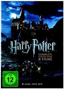 Harry Potter Komplettbox auf DVD