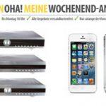 OHA-Deals zum Wochenende: iPhone 5 16GB, K-Swiss Sneaker, LED Scheinwerfer und Telefunken 3in1 Bundle