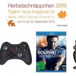 Xbox 360 Konsole, Bourne Collection, XEOX Gamepad, Speedlink Headset und mehr bei den Amazon Herbstschnäppchen