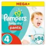 Pampers Baby-Dry Pants Gr. 4 (8-15kg) 94 Windeln für 22,50€ inkl. Versand
