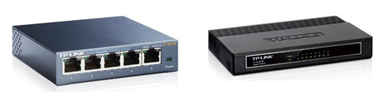 10 Prozent Sofort-Rabatt auf Gigabit-Switches von TP-Link