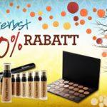 15% Rabatt auf das gesamte Sortiment und bereits reduzierte Ware bei BHcosmetics