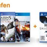 2 Playstation 4 Spiele vorbestellen und 1 gratis dazu bekommen