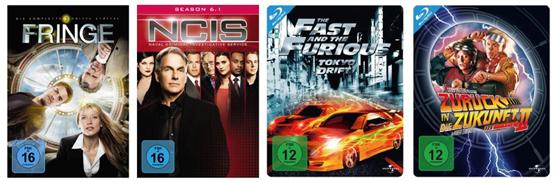 2 Serien Staffeln für 20€, Steelbooks unter 10€ und mehr bei den DVD und Blu-ray Angeboten der Woche