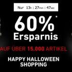 60% Halloween Rabatt für über 15.000 Artikel bei Dress-for-less + 10% Gutschein