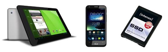 Amazon Angebote der Woche – KW 44 mit Asus Padfone 2, Odys Noon Pro Tablet und mehr