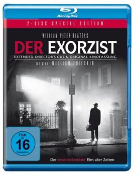 Der Exorzist (Kinofassung + Director's Cut) auf Blu-ray