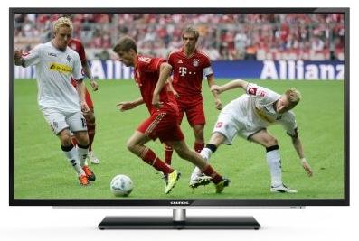 Grundig 55 VLE 922 - 55 Zoll 3D LED-Backlight-Fernseher