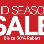 H&M Mid Season Sale mit Rabatte von bis zu 50%