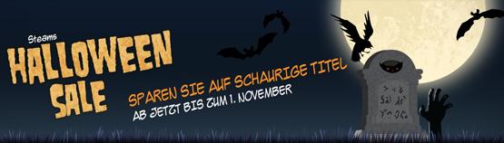 Halloween Sale bei Steam mit Rabatten von bis zu 85 Prozent auf ausgewählte Spiele