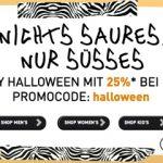 Happy Halloween Sale bei Puma mit 25% Rabatt + 10€ Newsletter Gutschein