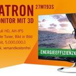 LG Flatron 27MT93S – 27 Zoll Full HD 3D Monitor mit Triple-Tuner für 369€ inkl. Versand