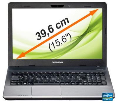 Medion Akoya P6640 - 15,6 Zoll Notebook mit i3, 8GB Ram, 1TB HDD und GeForce GT 740M