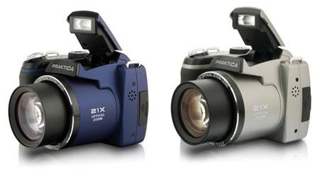 Praktica LM 16-Z21S Digitalkamera in Blau und Titan