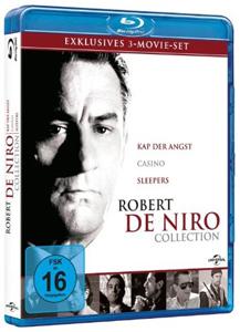 Robert de Niro Blu-ray Box mit Casino, Kap der Angst und Sleepers
