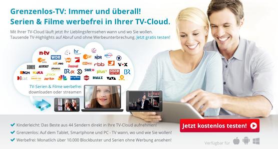 Save.TV 2 Monate lang kostenlos testen - Online-Rekorder mit Streams für 44 Sender