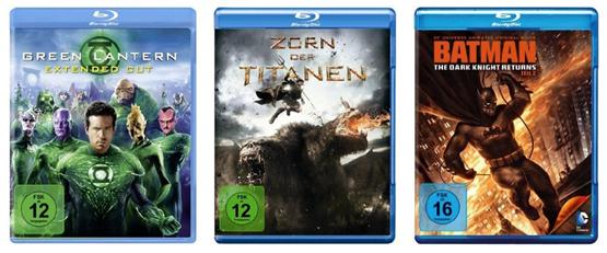 Superhelden Tag bei Amazon - verschiedene DVD und Blu-ray Aktionen