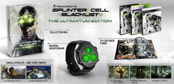 Tom Clancys Splinter Cell Blacklist Ultimatum Edition